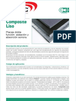 Ficha Composite Liso 3009