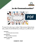 Portafolio de Comunicación