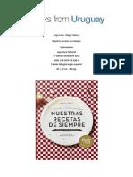 Recetas Uruguayas- Abstract Español
