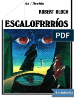 Escalofrrrios - Robert Bloch