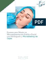 Examen de Maestria Micropigmentacion