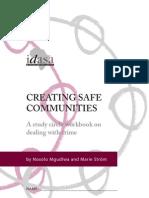 Creating Safe Communities