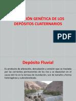 Definición Genética de Los Depósitos Cuaternarios Clase 2
