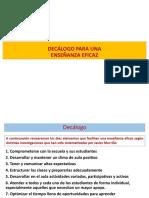 DECALOGO PARA UNA ENSEÑANZA EFICAZ .pdf