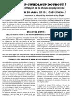 Tract LKP - Appel 26 octobre 2010