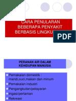 1. Penyakit Berbasis Lingkungan