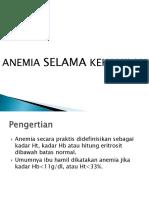 Presentation Anemia