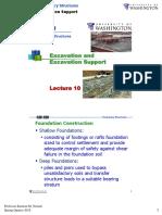 Lecture10 Excavation