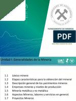 Fundamento a La Mineria__UNIDAD I_Ivonne Salas