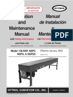 Conveyor Installation and Maintenance Manual