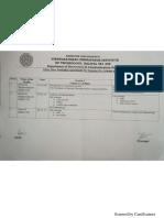 Program Schedules
