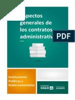 05.B-Modulo 4-Lectura 1 - Aspectos Generales de Los Contratos Administrativos