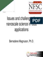 Nanomaterials in Food