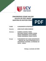 Articulación Planes estratégicos PEDN - PEI UNACH