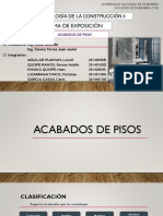 Acabdos en Pisos Grupo 6 Aguilar Minaya Quispe