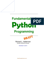 Fundamentals Python