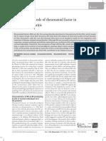 The Pathogenic Role of Rheumatoid Factor in Rheumatoid Arthritis
