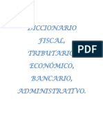 Diccionario de derecho tributario