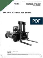 Kone Crane 15 Ton FL - Operation Manual