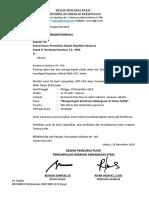 Surat Untuk Ketua DPR RI
