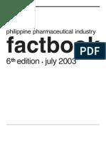 2003 Philippine Pharmaceutical Factbook