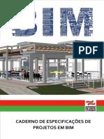 Caderno de Especificações de Projetos Em BIM