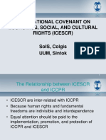 4A-ICESCR-International Covenant on Economic, Social, And Cultural Rights