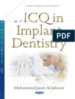 MCQ Implant Dentistry