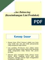 Keseimbangan Lini Produksi 2015