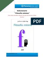 filosofia_minimasolucionario