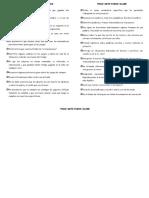 Información a Las Familias. 4 Años (1ª Ev. Curso 2018-19)