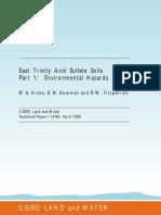 Acid Sulphate Soils
