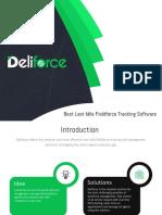 Deliforce-Field-force Management Software