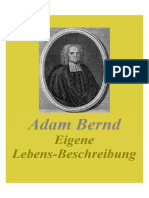 Bernd, Adam, Eigene Lebens Beschreibung