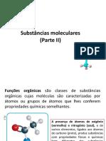 Substâncias Moleculares II - Slide