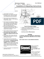 Stonel Limit Switch Instructions