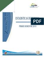 as Turismo Primer Semestre 2010