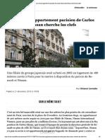 L'Immense Appartement Parisien de Carlos Ghosn Dont Nissan Cherche Les Clefs