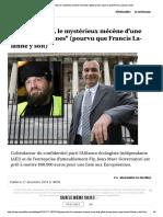 """Governatori, le mystérieux mécène d'une...s"""" (pourvu que Francis Lalanne y soit)"""