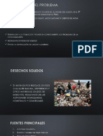 Residuos Solidos en La Ciudad Del Cusco