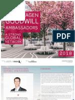 Copenhagen Goodwill Ambassadors 2018