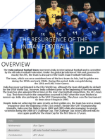 Resurgence of Indian Football Team