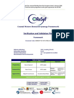 CORESYF T2 VVR VVP01 E R Verification and Validation Plan Framework V1 0