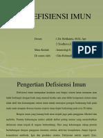 Penyakit defisiensi imun