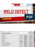 Lecture 12 - Welding Defect