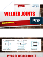 Lecture 11 Weld Joints