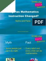 Math Instruction