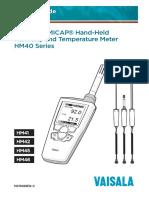 HM40 User's Guide in English M211088EN