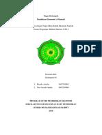 Resume Pemikiran Ekonomi Al-Ghazali