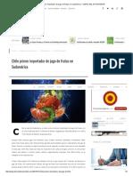 Chile Primer Importador de Jugo de Frutas en Sudamérica - DIARIO DEL EXPORTADOR